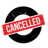 Cancelled rubber stamp Royalty Free Stock Photography