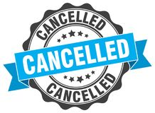 cancelled stamp Στοκ εικόνες με δικαίωμα ελεύθερης χρήσης