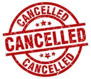 cancelled stamp Στοκ φωτογραφίες με δικαίωμα ελεύθερης χρήσης
