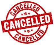 cancelled stamp Στοκ Εικόνα