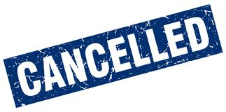 cancelled stamp Στοκ Εικόνες