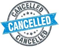 cancelled stamp Στοκ Φωτογραφίες
