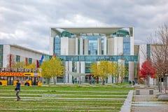 Cancelleria della Germania federale, Berlino Fotografia Stock Libera da Diritti