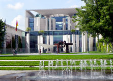 Cancelleria federale tedesca fotografia stock libera da diritti