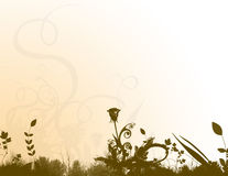 Cancelleria floreale Fotografia Stock