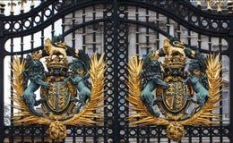 Cancelli del Buckingham Palace Immagine Stock