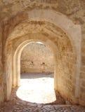 Cancelli del castello Fotografia Stock Libera da Diritti