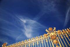 Cancelli del De Versailles del chateau Fotografia Stock