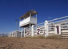 Cancelli del rodeo Fotografia Stock