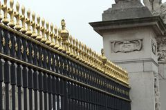 Cancelli di Buckingham Immagine Stock