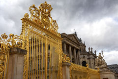 Cancelli dorati di Versailles Fotografie Stock