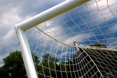 Cancello #4 di calcio fotografia stock libera da diritti