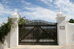 Cancello Fotografia Stock Libera da Diritti
