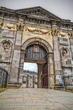 Cancello al castello del Kilkenny Immagine Stock