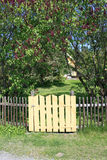 Cancello al giardino Fotografie Stock