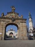 Cancello al santuario di Jasna Gora in Czestochowa Immagine Stock Libera da Diritti
