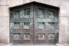 Cancello antico Fotografie Stock Libere da Diritti