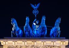 Cancello Berlino di Brandenberg Fotografie Stock