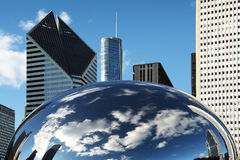 CANCELLO CHICAGO DELLA NUBE Fotografie Stock