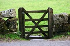Cancello chiuso Immagine Stock Libera da Diritti
