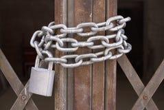 Cancello concatenato Fotografia Stock Libera da Diritti
