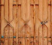 Cancello d'acciaio arrugginito Fotografie Stock Libere da Diritti