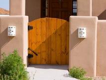 Cancello del Adobe Fotografie Stock Libere da Diritti