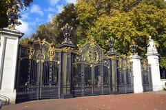 Cancello del Canada, Palazzo di Buckingham, Buckingham Palace Fotografia Stock Libera da Diritti