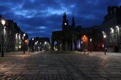 Cancello del castello, Aberdeen Immagine Stock