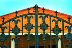 Cancello del ferro Fotografie Stock