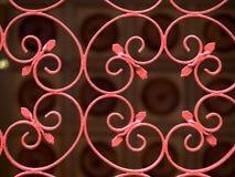 Cancello del ferro saldato Fotografia Stock