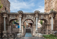 Cancello del Hadrian Fotografia Stock Libera da Diritti