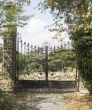 Cancello del metallo Fotografia Stock Libera da Diritti