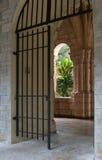 Cancello del monastero Immagini Stock Libere da Diritti