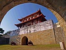 Cancello del sud della città storica di Tainan Immagine Stock