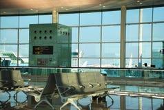 Cancello dell'aeroporto Immagini Stock