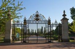 Cancello dell'entrata della sosta del reggente Immagine Stock Libera da Diritti