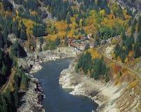 Cancello dell'inferno in canyon di Fraser Fotografia Stock Libera da Diritti