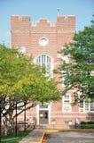 Cancello dell'istituto universitario di Simpson Fotografie Stock Libere da Diritti