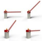 Cancello della barriera illustrazione vettoriale