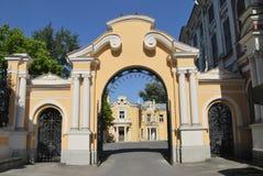 Cancello della chiesa Fotografia Stock