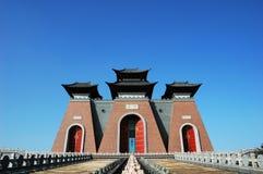 Cancello della Cina Immagini Stock