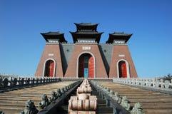 Cancello della Cina Immagini Stock Libere da Diritti