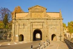 Cancello della città, Bergamo, Italia Fotografie Stock