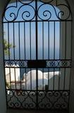Cancello della forgia Fotografie Stock Libere da Diritti