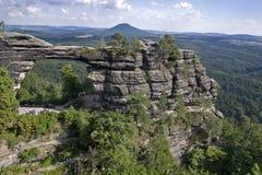 Cancello della roccia Fotografia Stock
