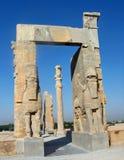 Cancello delle nazioni, Persepolis, Iran Fotografia Stock Libera da Diritti