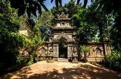 Cancello di Balinese Fotografia Stock