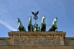 Cancello di Brandeburgo Fotografie Stock