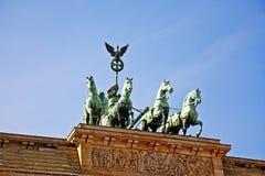Cancello di Brandeburgo, Berlino Fotografie Stock Libere da Diritti